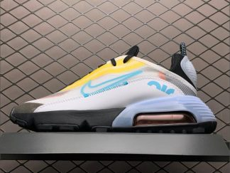 Cheap Nike Air Max 2090 Yellow and Light Blue Tones CT1091-100