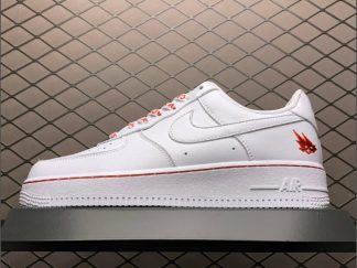 Cacti x Nike Air Force 1 Low Cloud White-University Red For Sale CT9225-188