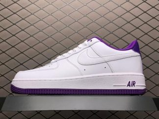 Nike AF1 Air Force 1 Low Voltage Purple White For Sale CJ1380-100