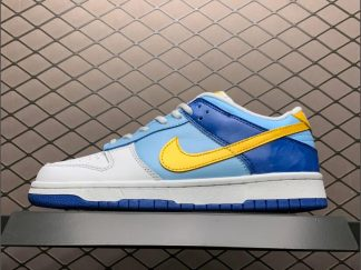 Nike Dunk Low GS Splash Yellow Blue For Sale 309601-471