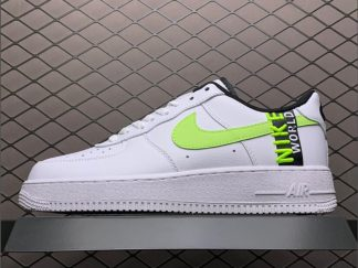 Nike Air Force 1 Low Worldwide White Barely Volt Cheap Sale CN8536-100