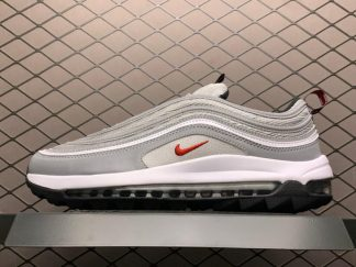 2020 Nike Air Max 97 Golf Silver Bullet For Running CI7538-001