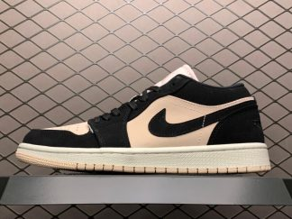 Air Jordan 1 Low Black Guava Ice Basketball Sneakers Outlet DC0774-003