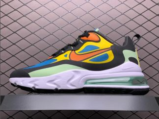 Cheap Nike Air Max 270 React in Green Abyss and Laser Orange CZ7869-300
