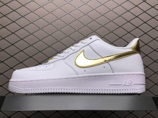 Nike Air Force 1 Low White Metallic Gold For Sale DC2181-100