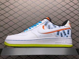2021 Nike Air Force 1 Low Back To School Hot Sale CZ8139-100