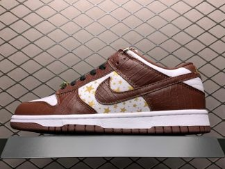 Supreme x Nike SB Dunk Low Brown Stars For Sale DH3228-103