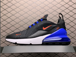 Buy Nike Air Max 270 Black and Blue Running Shoes DC0957-001