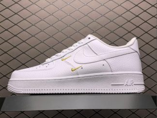 Men and Women's Nike Air Force 1 Swooshes Pack White CT1989-100