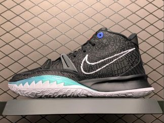 Nike Kyrie 7 EP Black Off Noir Chile Red White Men's Sale CQ9327-002