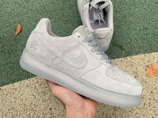 Cool Reigning Champ x Nike AF1 Air Force 1'07 Light Grey For Sale AA1117-188