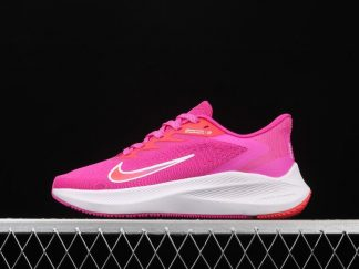 Nike Air Zoom Winflo 7 Pink Cloud White-Red Womens Shoes CJ0302-600