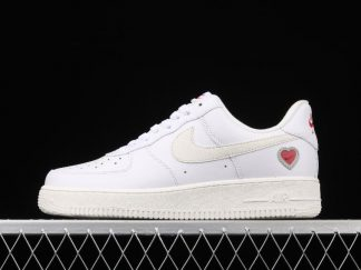 2021 Nike Air Force 1 Low 'Valentine's Day' Sport Shoes DD7117-100