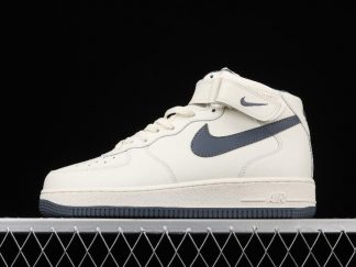 2021 Nike Air Force 1 Mid 07 White Wolf Grey To Buy CT7876-994
