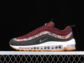 Buy Nike Air Max 97 Pendleton by You Wine Red Black Olive DC3494-993