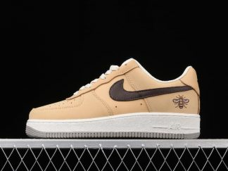 Grade School Nike Air Force 1 Manchester Bee DC1939-200