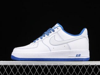Nike Air Force 1 07 White Blue Lifestyle Shoes CN2896-102
