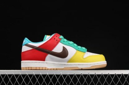 """2021 Best Deal DH0952-100 Nike Dunk Low SE """"Free 99"""" In White Shoe-3"""