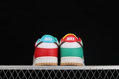 """2021 Best Deal DH0952-100 Nike Dunk Low SE """"Free 99"""" In White Shoe-4"""