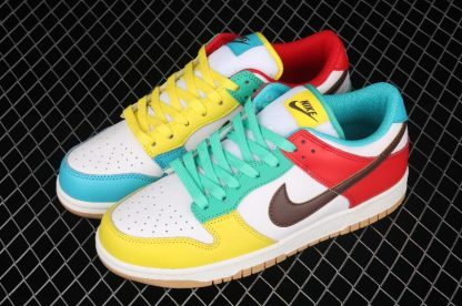 """2021 Best Deal DH0952-100 Nike Dunk Low SE """"Free 99"""" In White Shoe-1"""