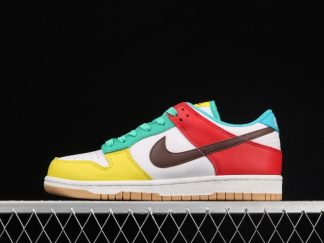"""2021 Best Deal DH0952-100 Nike Dunk Low SE """"Free 99"""" In White Shoe"""