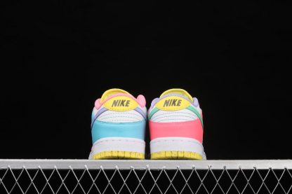 2021 Latest DD1872-100 Nike SB Dunk Low SE Candy White Green Glow Sunset Pulse On Sale-3