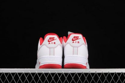 2021 Latest Release CN2896-101 Nike Air Force 1 07 SU19 White Red Sport Shoes-4