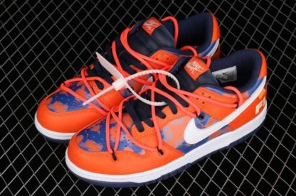 2021 New DD0856-801 Nike Dunk Low LTHR OW Orange White Sneakers For Sale-2