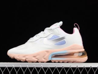 2021 Women's Nike Air Max 270 React Pink Washed Coral CZ8131-100