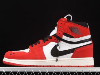 2021 Latest CW6576-700 Air Jordan 1 High Switch Chicago Red White