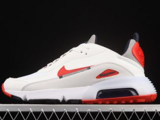 2021 New Arrival DH7708-100 Nike Air Max 2090 White Red Grey