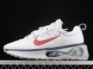 New Arrival Nike Air Max 2021 White Red Navy DC9478-100