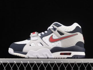 2021 Brand New CN9750-400 Nike Air Trainer 3 GS Navy/Red-White