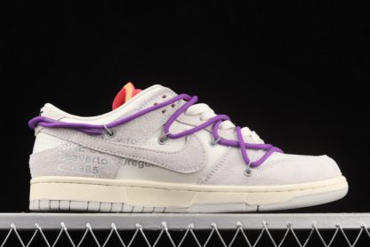2021 Discount DJ0950-101 Nike Off-White x Dunk Low Lot 15 Of 50 Online Shop-2