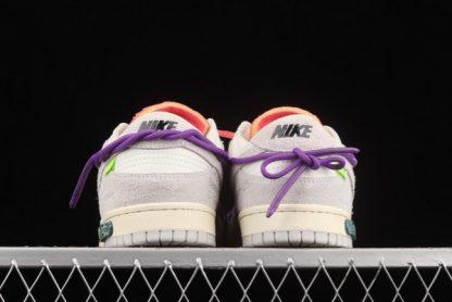 2021 Discount DJ0950-101 Nike Off-White x Dunk Low Lot 15 Of 50 Online Shop-3