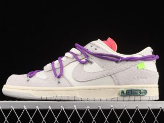 2021 Discount DJ0950-101 Nike Off-White x Dunk Low Lot 15 Of 50 Online Shop