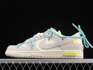 """2021 Discount DJ0950-106 Off-White x Nike Dunk Low """"The 50"""" Lot 14/50"""