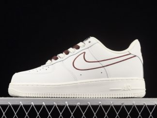 2021 Latest Release CL6326-138 Nike Air Force 1 07 Low LX Off White Coffee Shoes