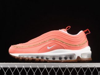2021 Latest Release DC4012-800 Wmns Nike Air Max 97 Cork Coral Pink