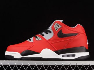 2021 Latest Release Nike Air Flight 89 University Red Black-Wolf Grey-White CN5668-600 For Sale