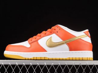 2021 Latest Release Nike Dunk Low Golden Orange DQ4690-800 Shoes