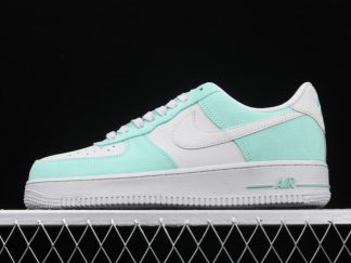2021 New Arrival 596728-301 Nike Air Force 1 Low Island Green For Sale