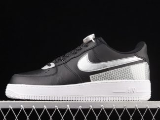 2021 New Arrival CT1992-001 3M x Nike Air Force 1 Black Reflect For Sale