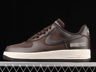 2021 New Arrival CT2858-201 Nike Air Force 1 Gore-Tex Baroque Brown For Sale