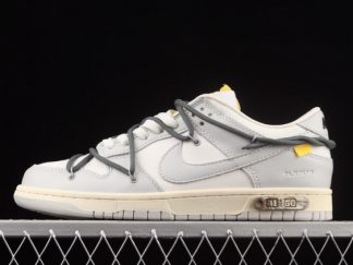 2021 New Arrival DM1602-105 Off White x Nike Dunk Low Lot 41 Of 50 For Sale