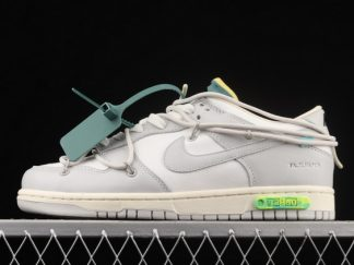 2021 New Arrival DM1602-117 Off-White x Nike Dunk Low The 50 For Sale