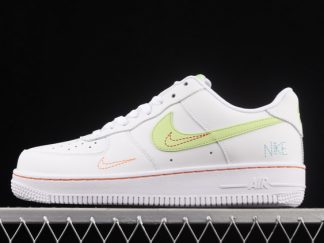 2021 New Arrival DN8000-100 Nike Air Force 1 White/Bright Crimson For Sale
